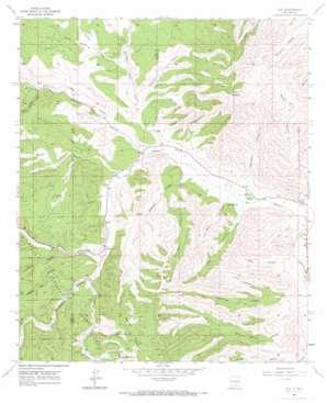 Elk topo map