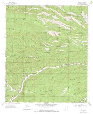 Mayhill topo map