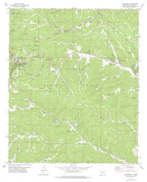 Cloudcroft topo map