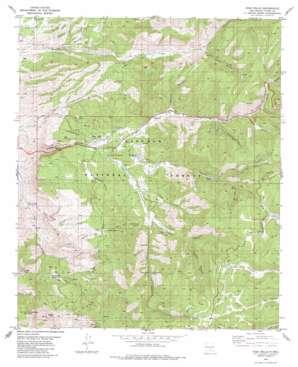 High Rolls topo map