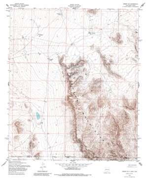 Desert Se topo map