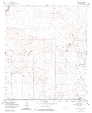 Desert Sw topo map