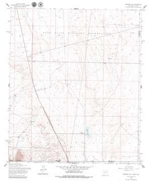 Newman Sw topo map