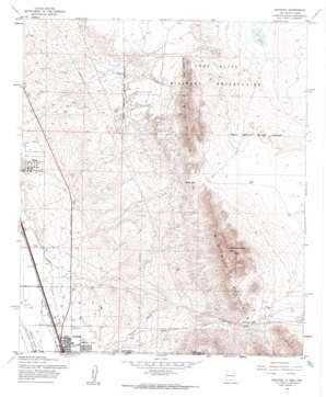 Anthony topo map