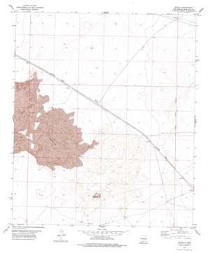 Afton topo map
