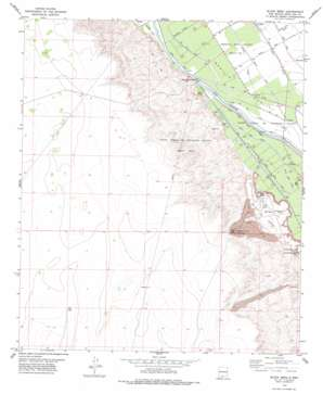 Black Mesa topo map
