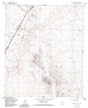 Orogrande South topo map