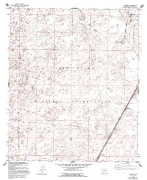 Elwood topo map