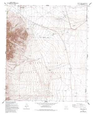 Davies Tank topo map