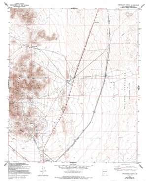 Orogrande North topo map