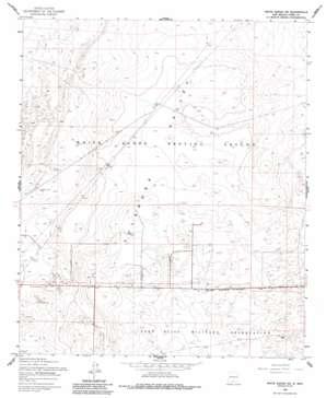 White Sands Ne USGS topographic map 32106d3