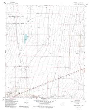 Organ Peak NW USGS topographic map 32106d6