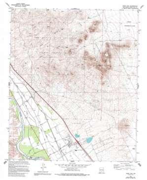 Dona Ana topo map