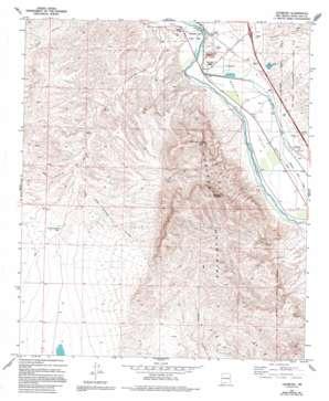 Leasburg USGS topographic map 32106d8