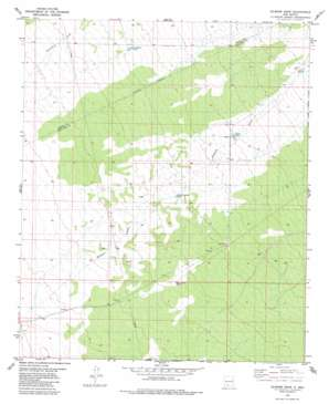 Gilmore Draw topo map