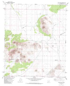 Upham Hills USGS topographic map 32106g8