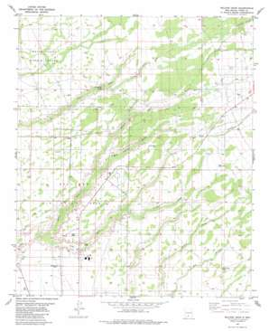 Malone Draw USGS topographic map 32106h1