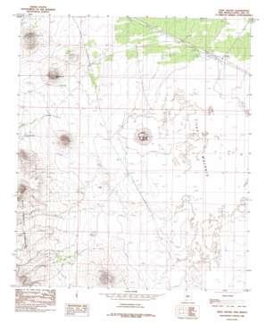 Aden Crater topo map