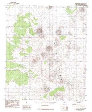 Mount Aden Sw topo map