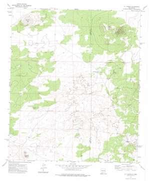 X-7 Ranch topo map