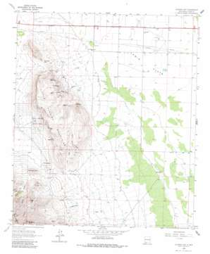 Florida Gap topo map