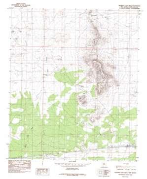 Sleeping Lady Hills USGS topographic map 32107c1