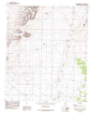 Magdalena Gap topo map
