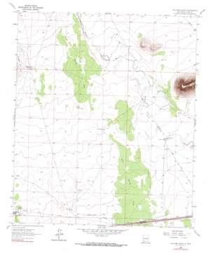 Williams Ranch topo map