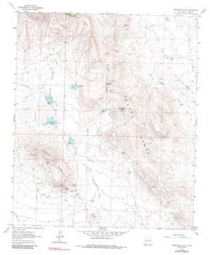 Massacre Peak topo map