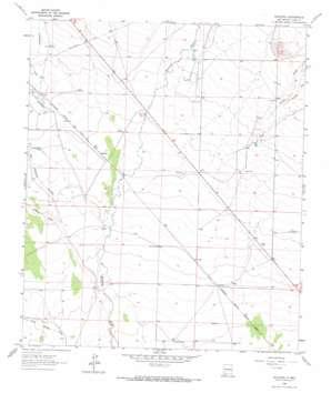 Spalding topo map