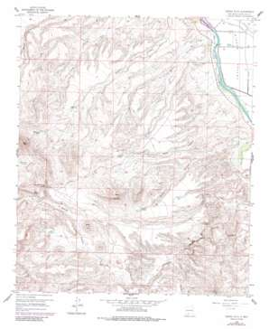 Sierra Alta topo map