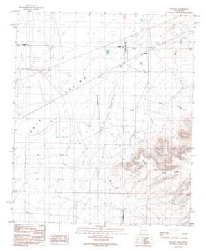 Hockett USGS topographic map 32107e3