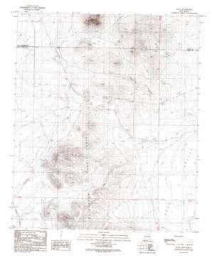 Nutt topo map