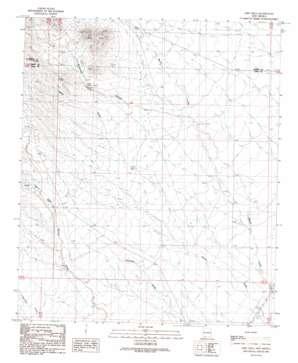 Greg Hills topo map