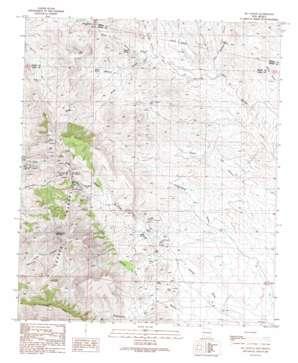 Ok Canyon topo map