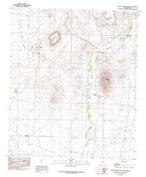 Taylor Mountain topo map