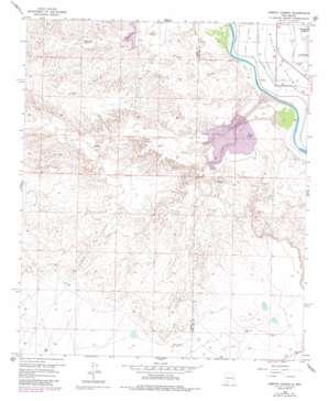 Arroyo Cuervo USGS topographic map 32107f3