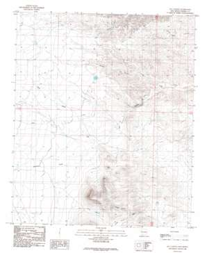 Jug Canyon topo map