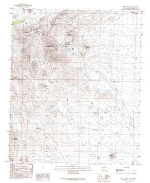 Lake Valley topo map