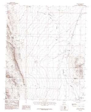 Alivio topo map