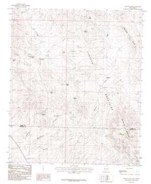 Mcleod Tank topo map
