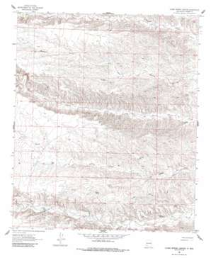 Clark Spring Canyon USGS topographic map 32107g4
