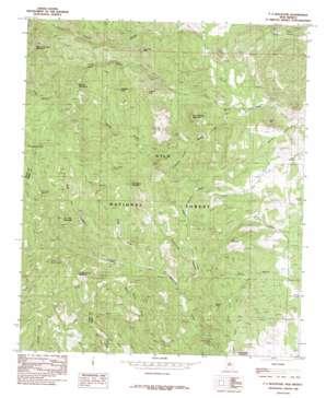 Pa Mountain topo map