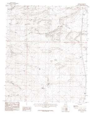 Upham topo map