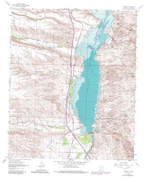 Caballo topo map