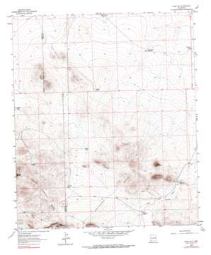 Gage Sw topo map
