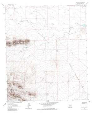 Brockman topo map