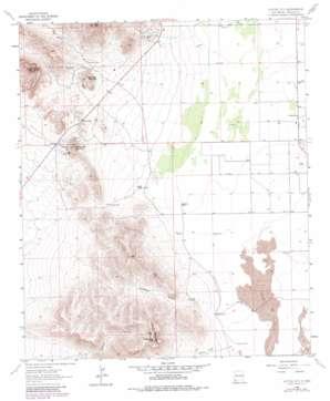 Cotton City topo map