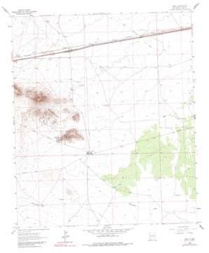 Gage topo map