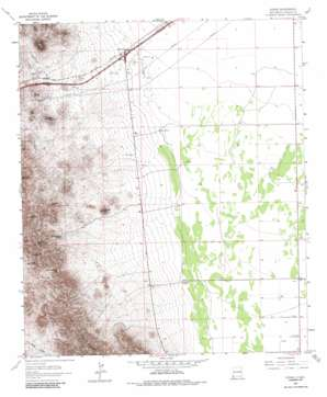 Steins USGS topographic map 32108b8